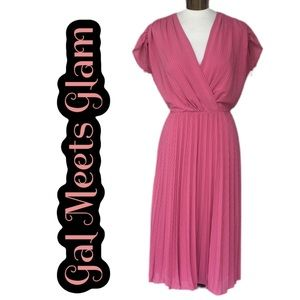 NWT GAL MEETS GLAM Dried Rose Dress Size 6